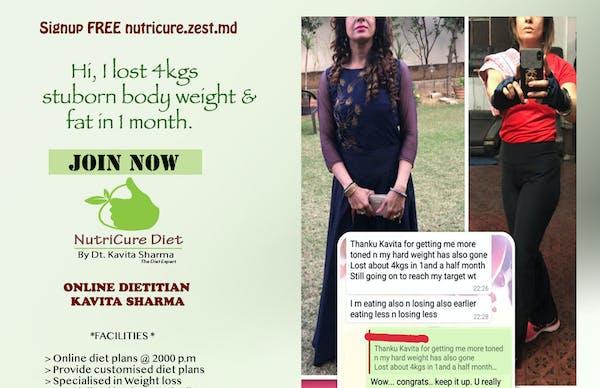 NutriCureDiet By Best Dietitian in Vikaspuri, West Delhi - Slide 5
