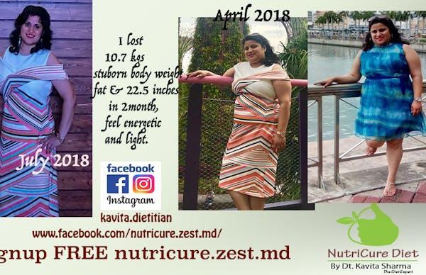 NutriCureDiet By Best Dietitian in Vikaspuri, West Delhi - Slide 1
