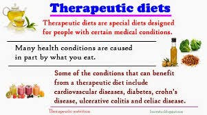 Customized Therapeutic Diet