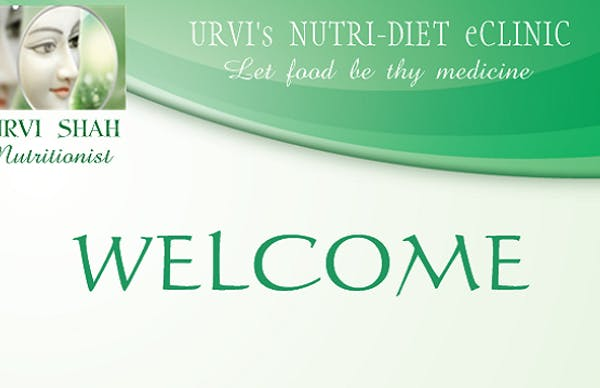 Urvi's Nutri-Diet eClinic - Slide 1