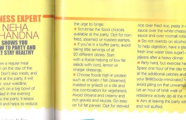 Dietician Neha's Diet Clinic, Dietitian in Mumbai - Slide 7