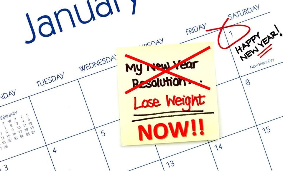 New Year, New Healthier You!