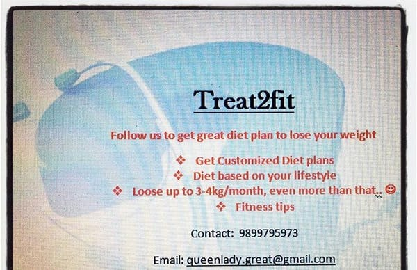 Treat2fit- one stop for healthy lifestyle and weight management - Dt. Bhavya Jain 9899795973 - Slide 3